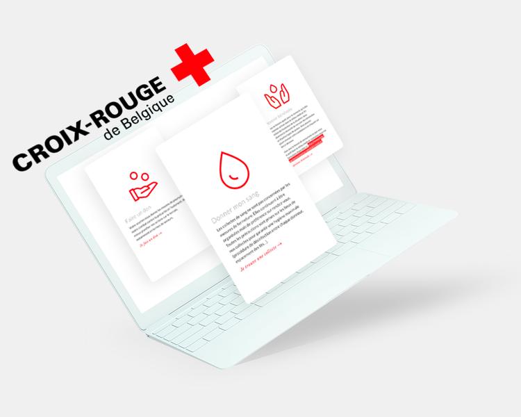 Informez et conscientisez les lecteurs de manière intelligence, par la Croix Rouge Belgique