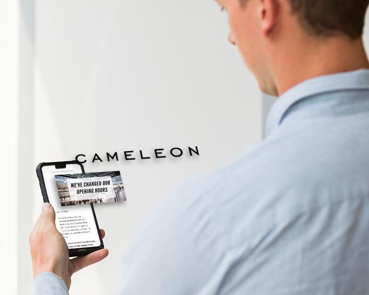 Gardez le contact avec vos clients à la façon Caméléon