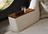 Holzablage der freistehenden Chaiselongue Tivoli.