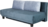 sofa bed MOON blue with back cushions