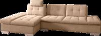 Mattes mit braunem Stoff, verstellbarem Armteil und Sitztiefenverstellung
