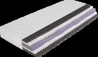 Matratze mit ergonomischen und luftdurchlässigen Kaltschaumkern