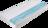 Matratze mit blauem Kaltschaumkern