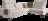Ecksofa in hellgrauem Stoff, zwei großen Funktionskissen, schwarzen Metallfüßen und grüner Ledertasche am Armteil