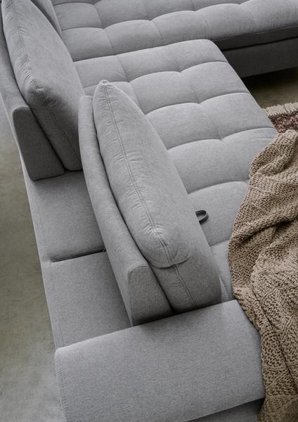 Detailbild von Sofa Lenny mit Sitztiefenverstellung