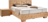 Boxspringbett mit Massivholz in Zirbe