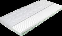 Matratze mit grünen und weißem Kaltschaum