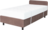 Extra bed MOBIL brown with mattress and 2 straps
