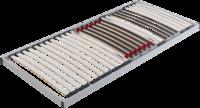 Lattenrost Fix, mit taillierten Latten im Schulterbereich und stufenloser Härtegradregulierung