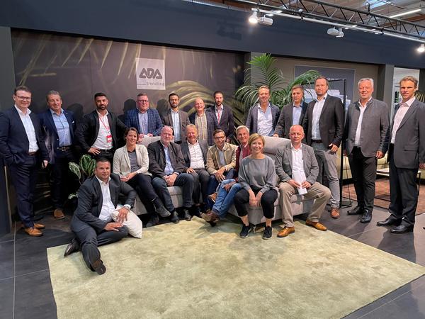 Gruppenfoto ADA Team auf der MOW 2021