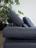 Detailbild von Sofa Raimo mit verstellbarer Nackenstütze