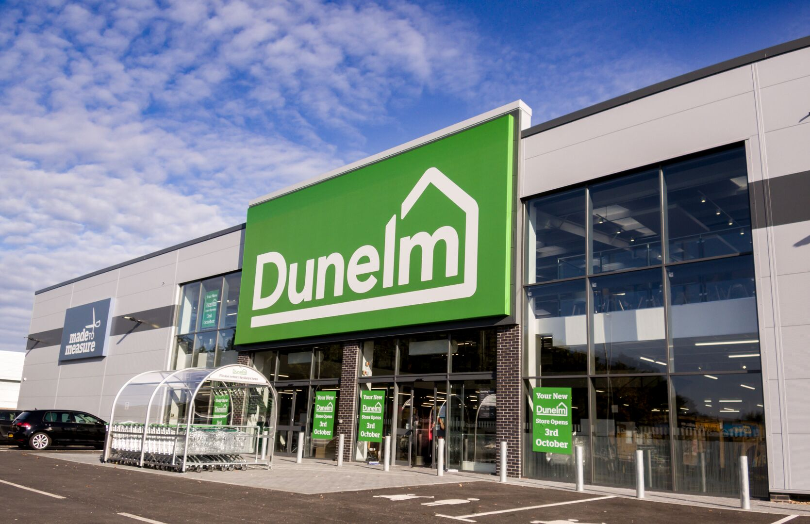 dunelm tata steel construction wall facade