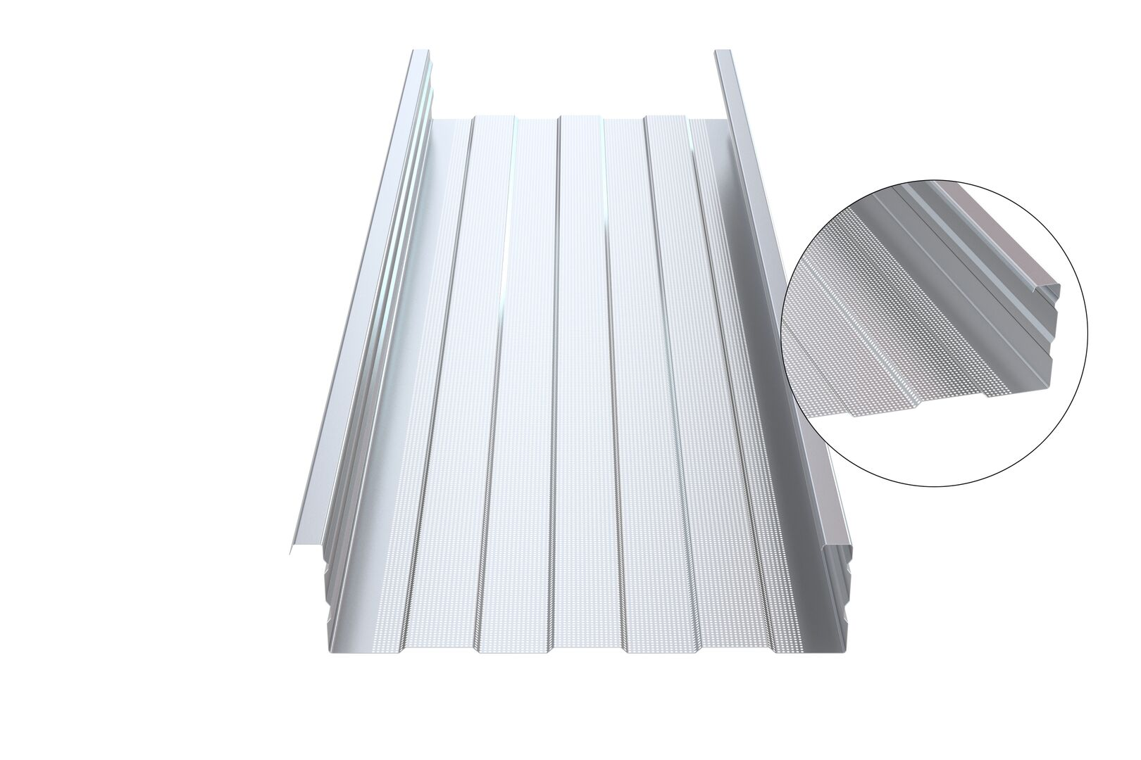 RoofDek structural liner tray