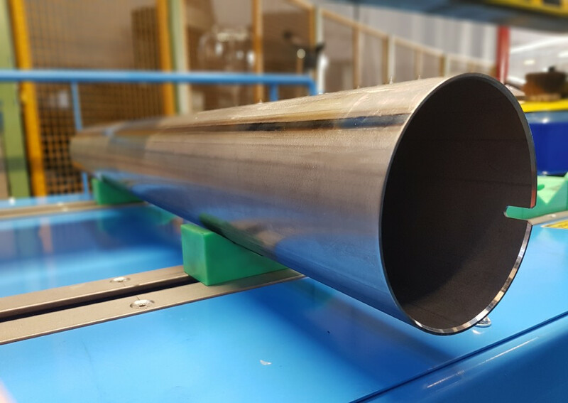 Precision steel tube made from XPF800 grade material