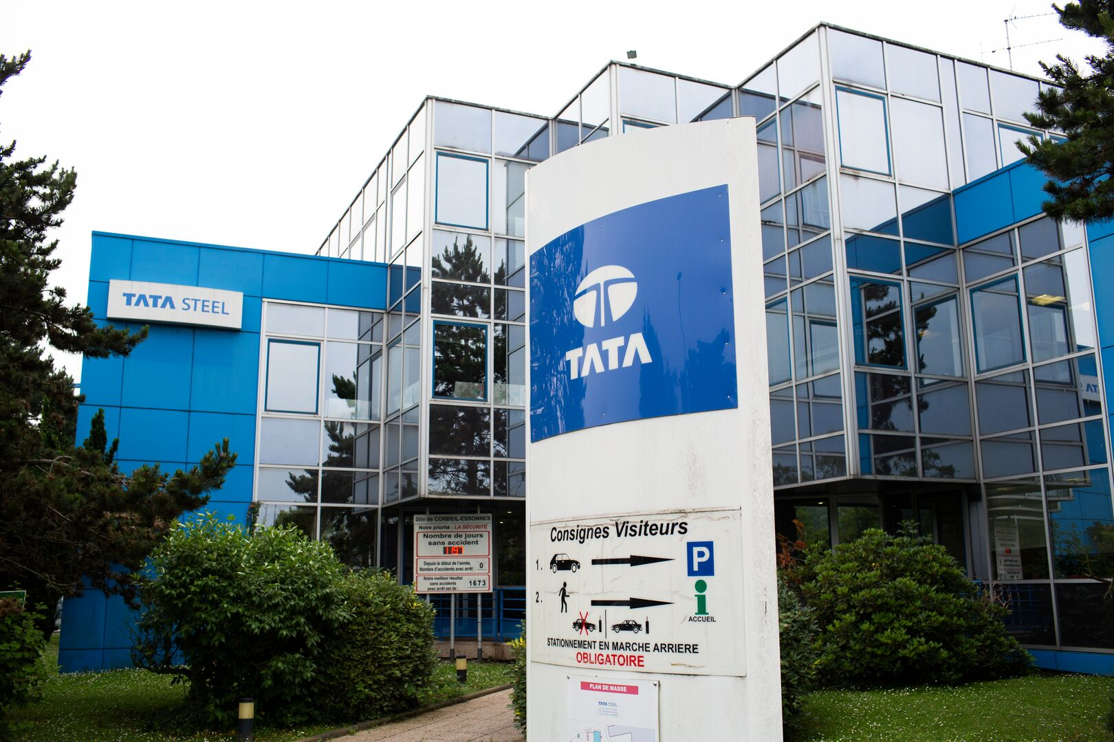 Tata Steel Unitol office in Paris