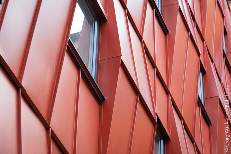 Boot & Shoe factory featuring Colorcoat Urban standing seam cladding