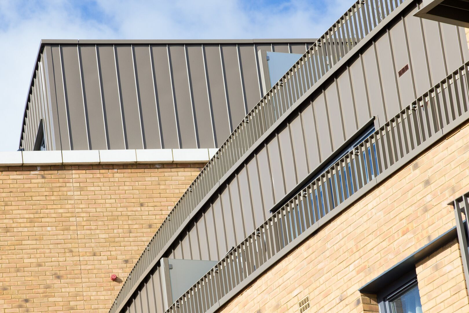 newman house residential colorcoat urban tata steel construction