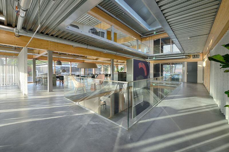 Airios Veldhoven uses ComFlor Active floor deck for energy reduction in use