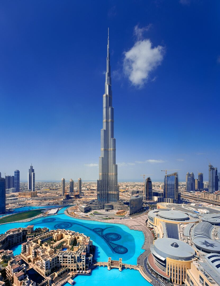 burj khalifa tata steel construction comflor