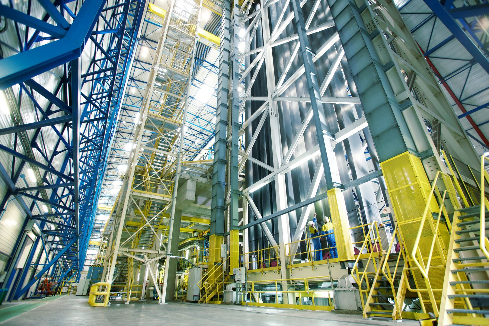 Tata Steel hot dip galvanizing line in IJmuiden
