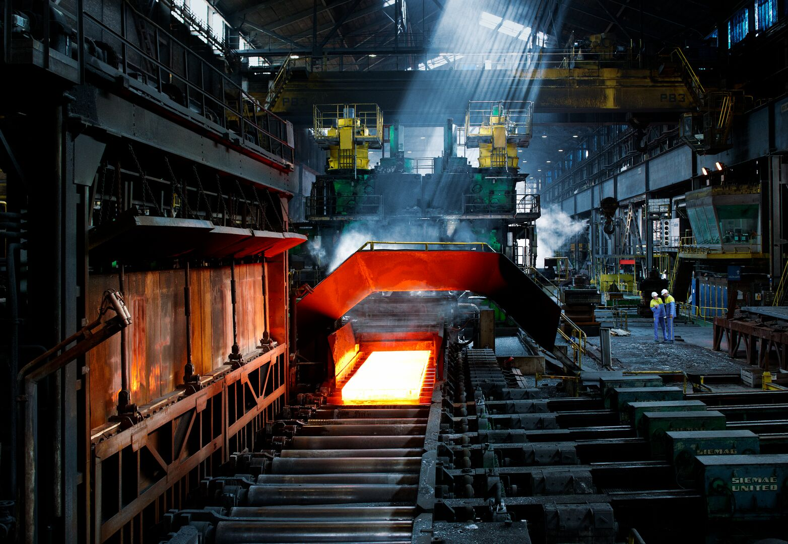 Tat Steel hot mill