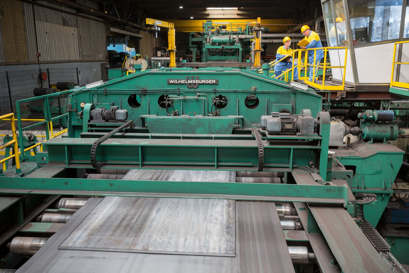 Processing machinery at the Maastricht Service Centre in Feijen