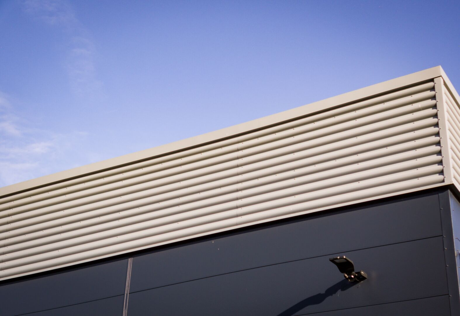 Wickes using Tata Steel Trisobuild profile steel cladding