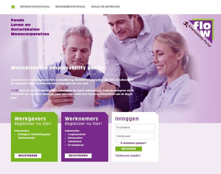 Woondiensten Employability Portal van FLOW