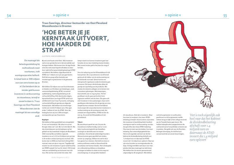 Opinie Truus Sweringa in Aedes-Magazine