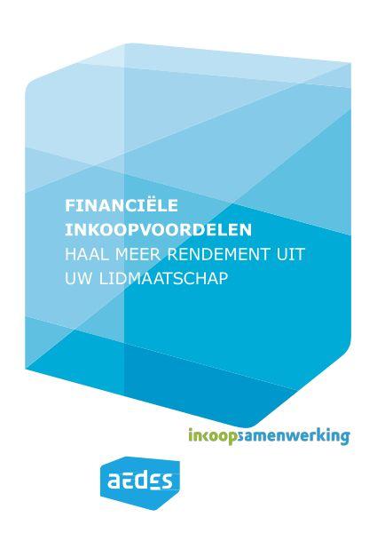 Brochure Financiële inkoopvoordelen