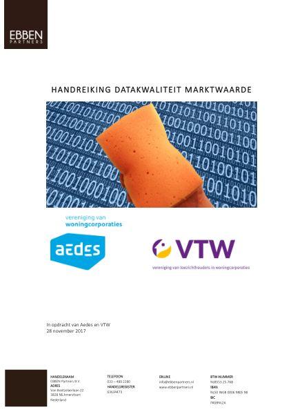 Handreiking datakwaliteit marktwaarde