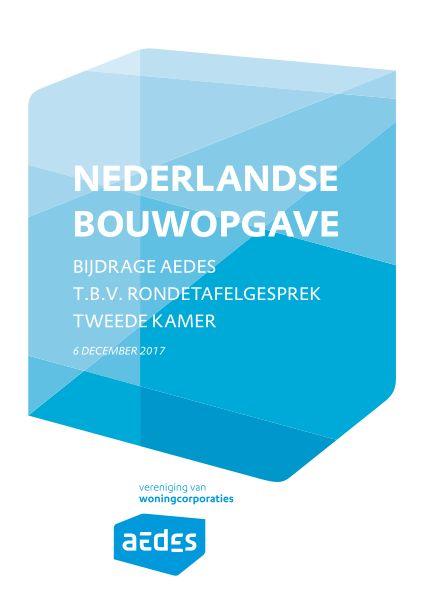 Position paper Nederlandse bouwopgave