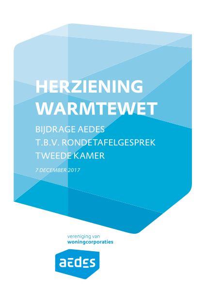 Position paper Herziening Warmtewet