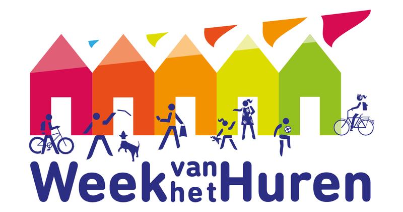 Het logo van de Week van het Huren