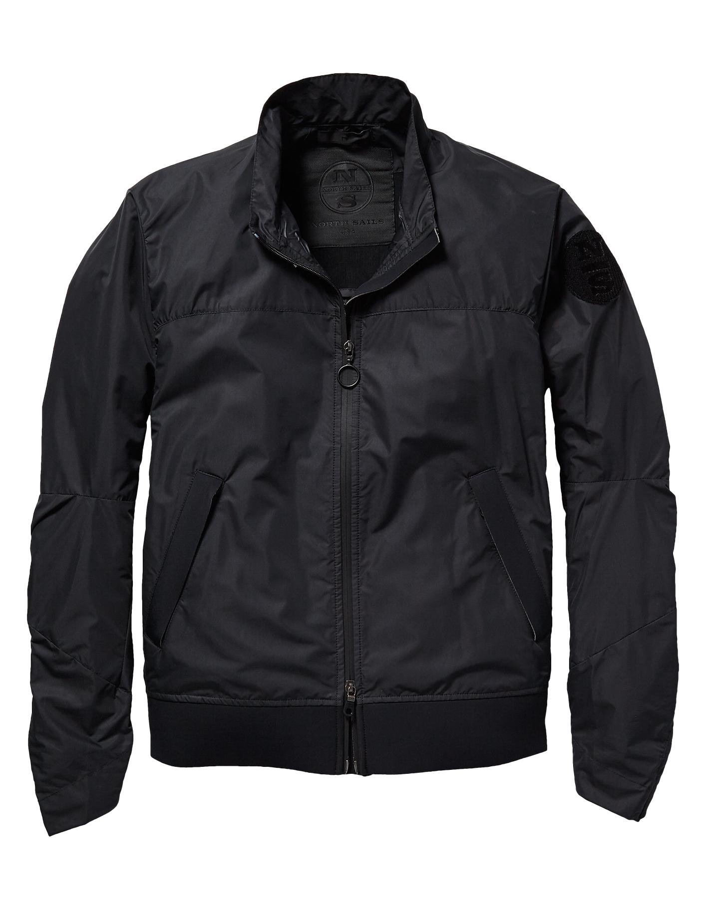 north sails mens wesley windproof jacket black. Black Bedroom Furniture Sets. Home Design Ideas