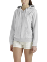 SWEAT HOODED FULL ZIP LONG SLEEVE