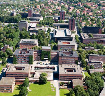 University of Oslo campus Blindern