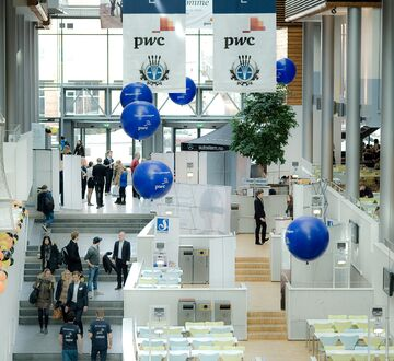 Inngangspartiet i Campus Stavanger