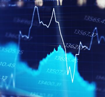 Graphs that measure the stock price