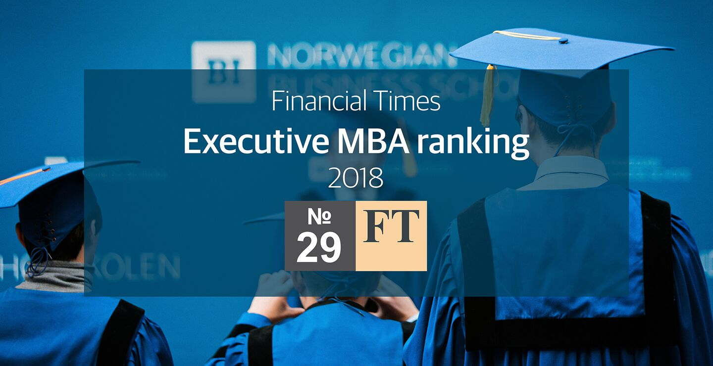 FT EMBA Ranking 2018