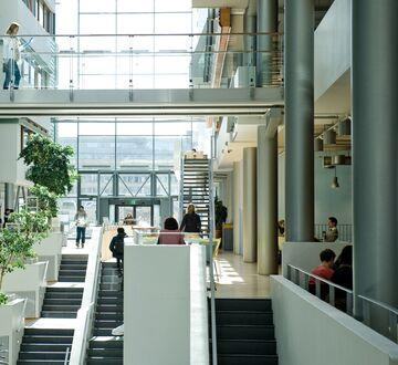 Innsiden av BI Oslo