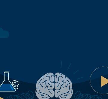 Illustrasjonsbilde: lyseblå hjerne