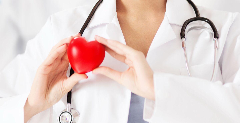 Stetoskop og hjerte