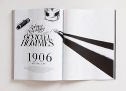 L'OFFICIEL HOMMES Editorial