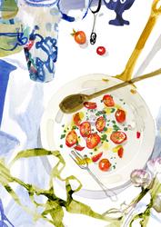 Vases & Tomatoes Food & Beverage