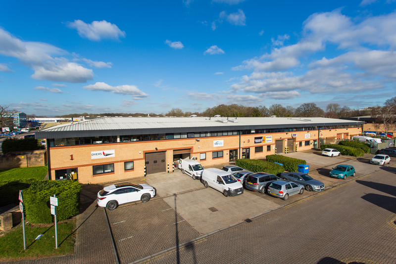 Logicor's Reading and Crawley industrial estates now fully let