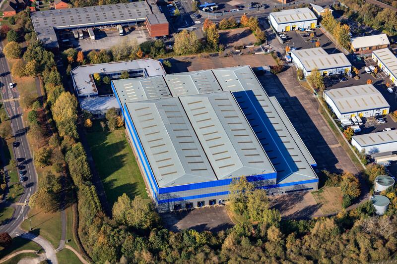 Logicor lets 164,311 sq ft at Minworth Central