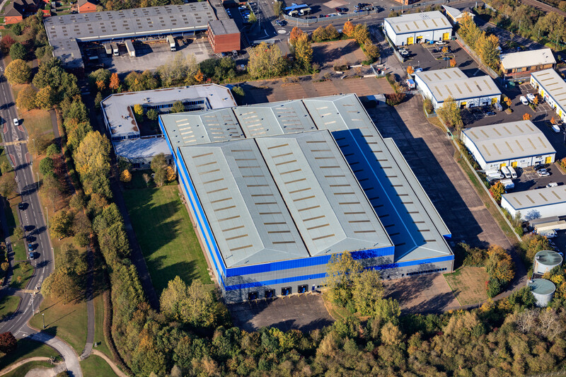Logicor lets 164,311 sq ft at Minworth Central