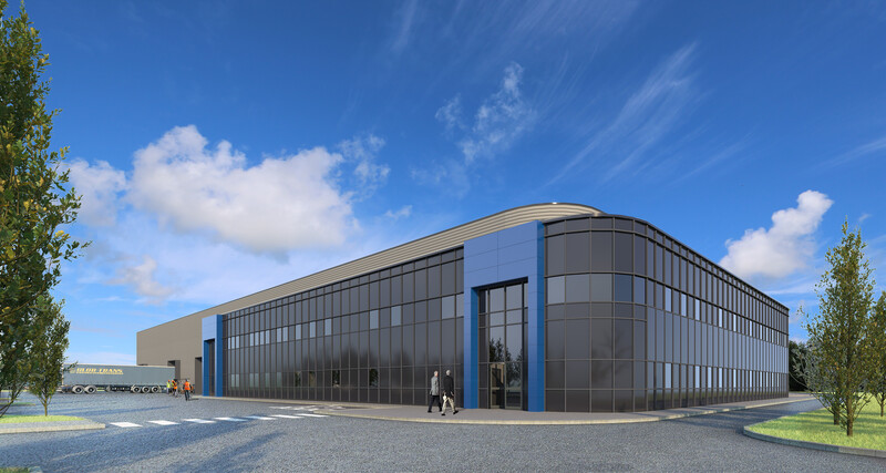 Peterlee warehouse refurbishment underway