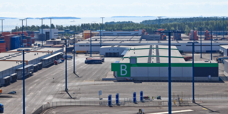 E.Ahlström's competitiveness is enhanced by smooth processes at Vuosaari warehouse